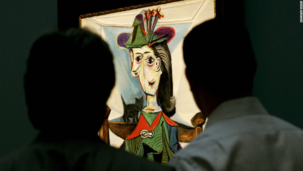 "Sotheby's sold Picasso's ""Dora Maar au chat"" in 2006 for $95.2 million."