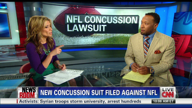 Jamal Anderson on Seau and NFL lawsuit