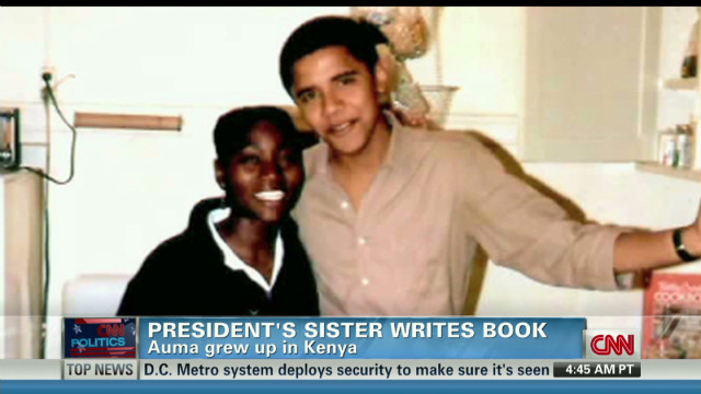 President's sister Auma Obama pens book