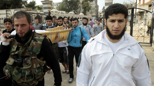 Crackdown in Syria