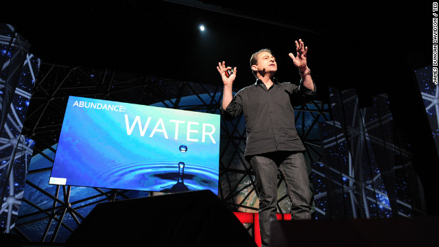 Peter Diamandis speaks at TED2012.