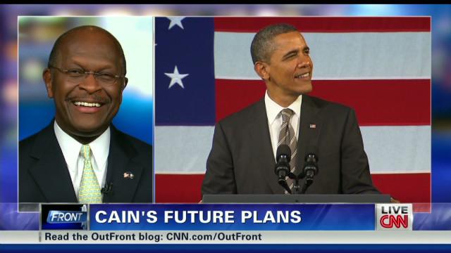 Herman Cain: Obama's singing 'OK'