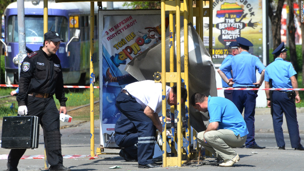 Security fears for the June 8-July 1 tournament in Ukraine and Poland have been elevated since four explosions went off in a busy area of central Dnipropetrovsk on April 27, wounding 26 people.