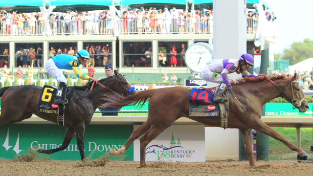 Kentucky Derby crowns surprise winner