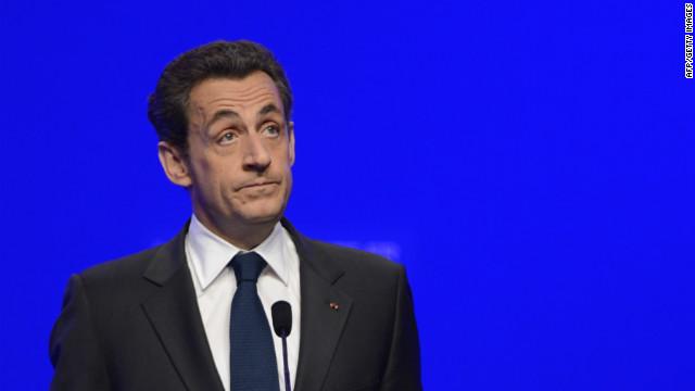 Nicolas Sarkozy concedes election