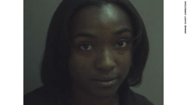 Lasherry Codner, 20, surrendered Sunday to Orange County, Florida, authorities.