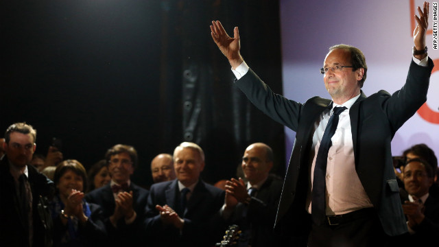 François Hollande, the newly elected president of France, has many challenges ahead.