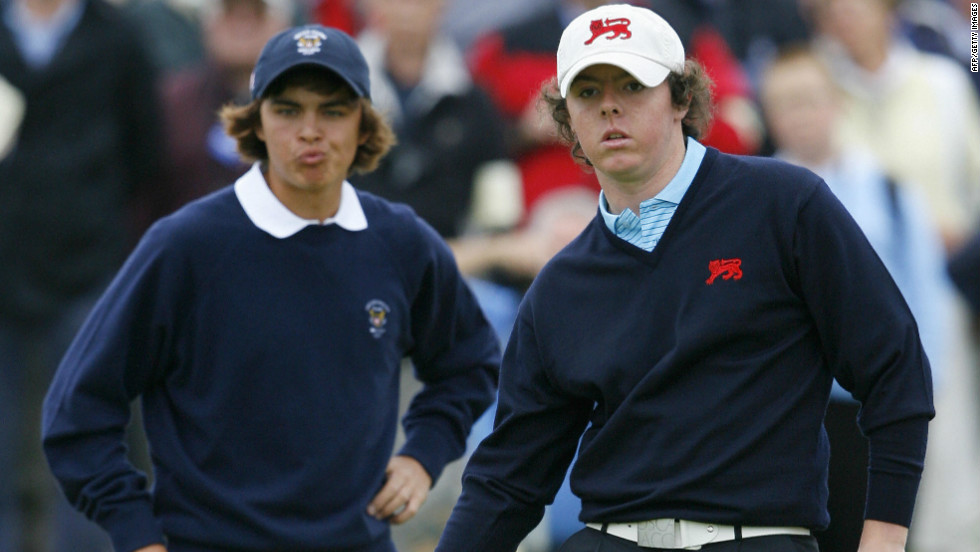 The duo's rivalry goes back to their amateur days, with Fowler helping the U.S. to beat Great Britain and Ireland in the 2007 Walker Cup on McIlroy's home soil at the Royal County Down Golf Club.