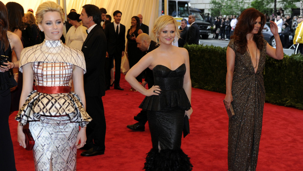 Elizabeth Banks, Amy Poehler and Debra Messing