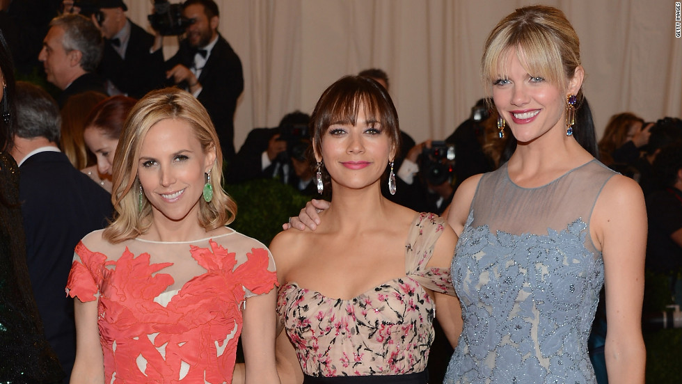 Tory Burch, Rashida Jones and Brooklyn Decker