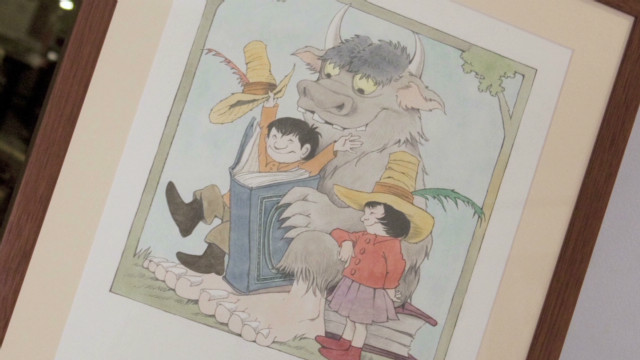 Sendak discusses his 'peculiar' work in 1991 with Larry King
