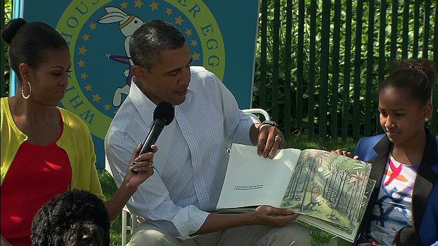 2012: President Obama reads 'Wild Things'