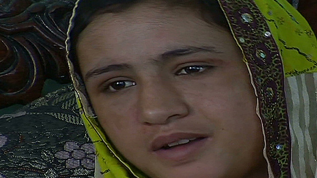 Tortured Afghan girl tells her story