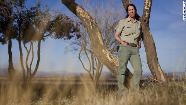 Kathleen Nelson is in charge of the Sierra Vista Ranger Station in the Coronado National Forest.
