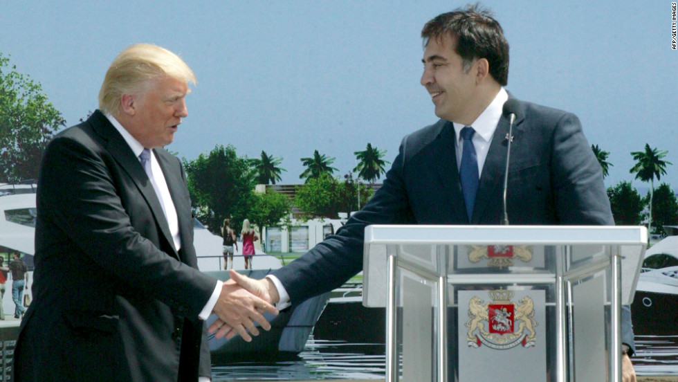 Emerging from the 2008 conflict with Russia, Georgia is seeking foreign investment and tourism.  President Mikheil Saakashvili has struck a deal with U.S. property mogul Donald Trump, who will lend his name to a new luxury skyscraper project in the Black Sea resort of Batumi.
