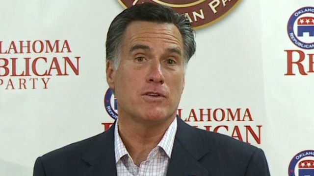 Romney: My view same on gay marriage