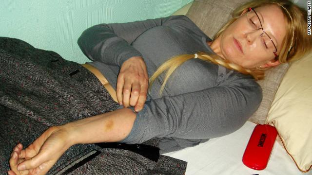 Tymoshenko grateful for Europe's support