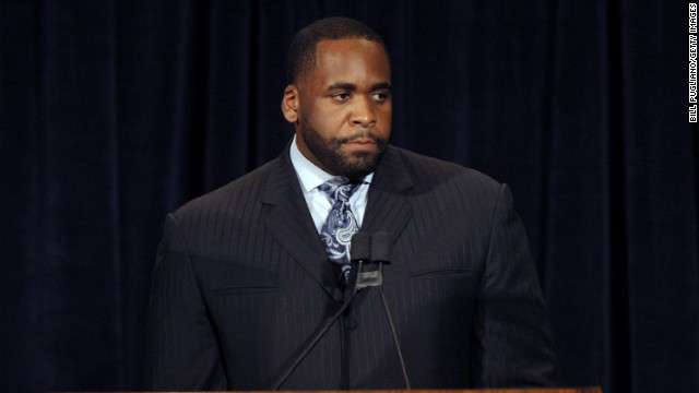 Former Detroit mayor Kwame Kilpatrick is in jail for the weekend.