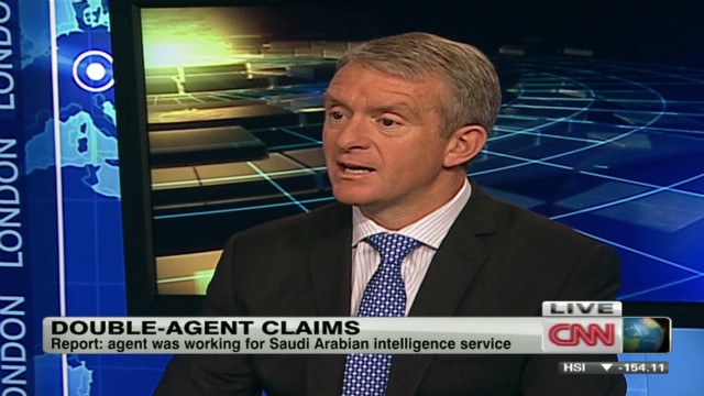 The agent worked for Saudi intelligence.