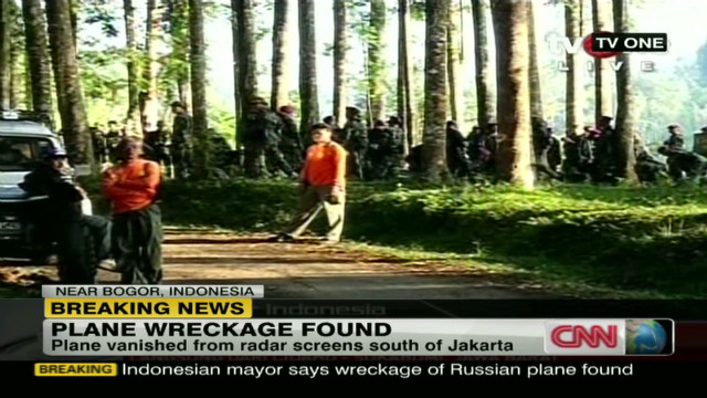 Wreckage of missing Russian plane found