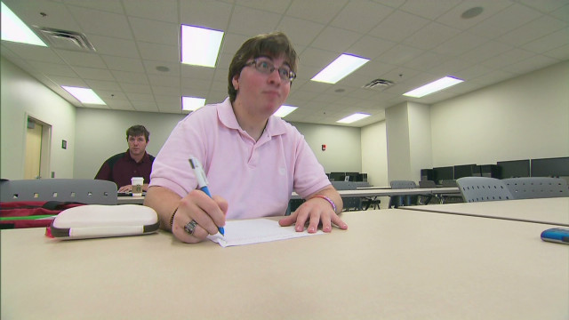 Facing challenge of college with autism