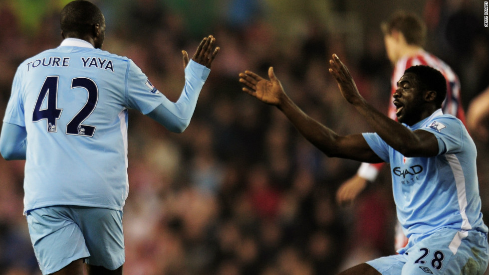 Toure's older brother Kolo joined Manchester City a year earlier in 2009, having moved from English rivals Arsenal.