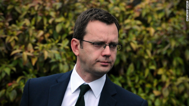 Andy Coulson is testifying on Thursday at the independent government-appointed Leveson Inquiry.