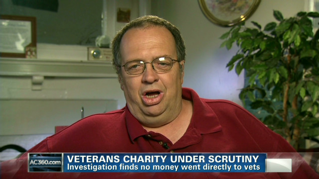 Vet: Charity is stealing from us