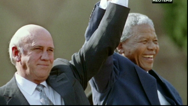 de klerk and mandela relationship advice