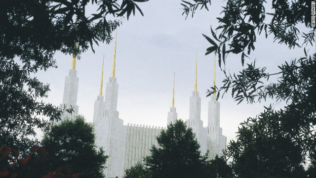Mormon Temple in Washington, D.C. (Photo by Independent Picture Service/UIG via Getty Images)