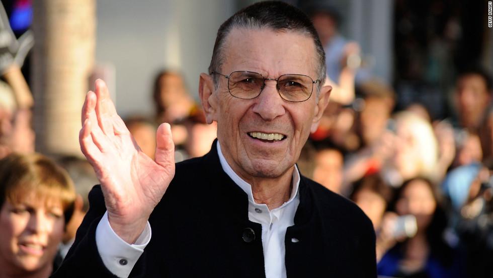 Spock actor reveals he has COPD