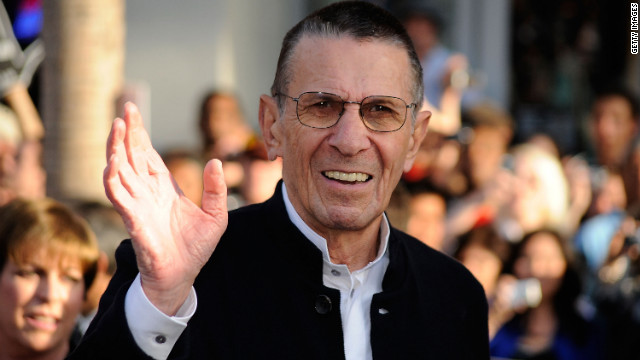 Spock actor reveals he has COPD