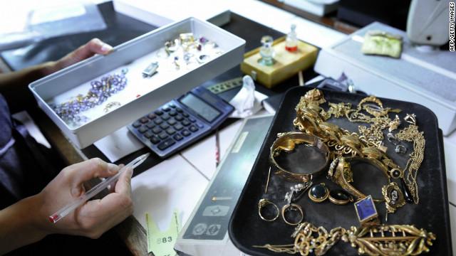 Parisians turn to pawn shop