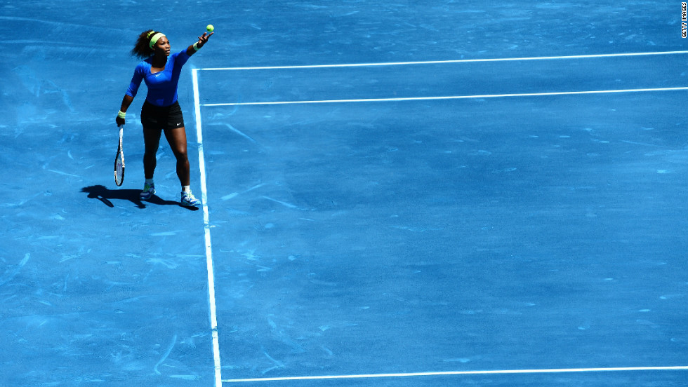 "Not all the feedback has been negative. ""I think it's the same, it's just you don't get as dirty,"" Serena Williams tweeted."