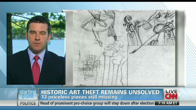 Alleged mobster's home searched for art