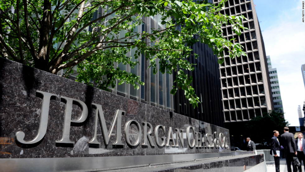 In February 2012, JPMorgan Chase was levied for problems in its mortgage servicing business.