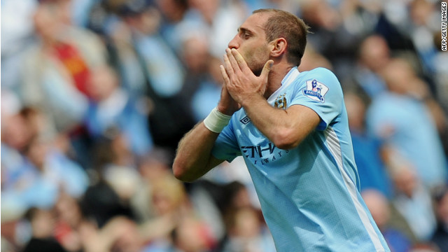 Man City's last gasp goal wins title
