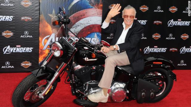 iReporters unmask Stan Lee