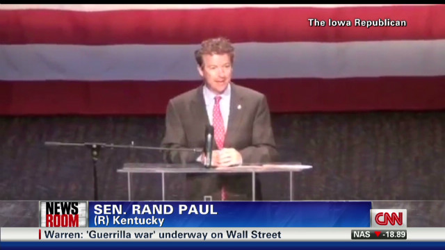 Rand Paul ridicules gay marriage stance