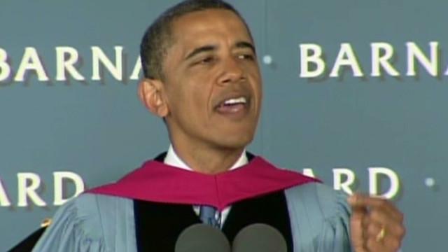 Obama: You'll have unique challenges