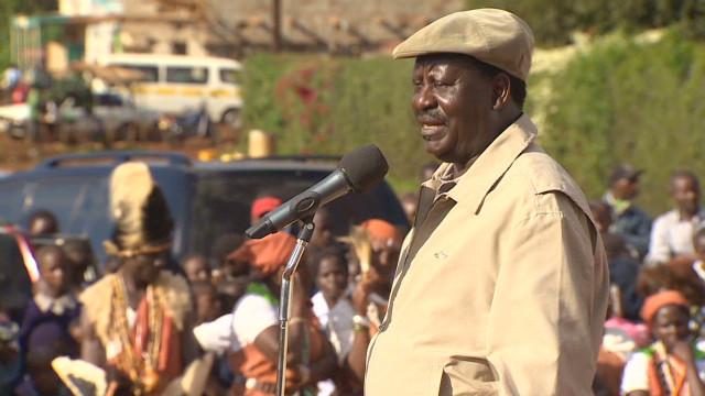 Kenyan PM warns against violence