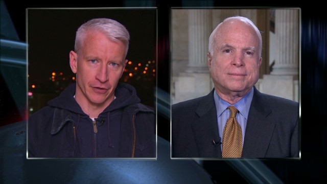 McCain: 'Shameful' not to act in Syria