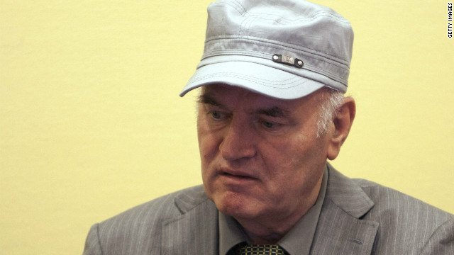 2011: Ratko Mladic captured