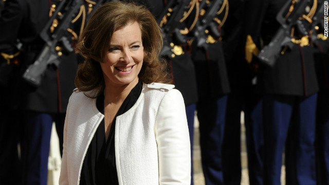 France's first lady Valerie Trierweiler is the subject of a new tell-all book.
