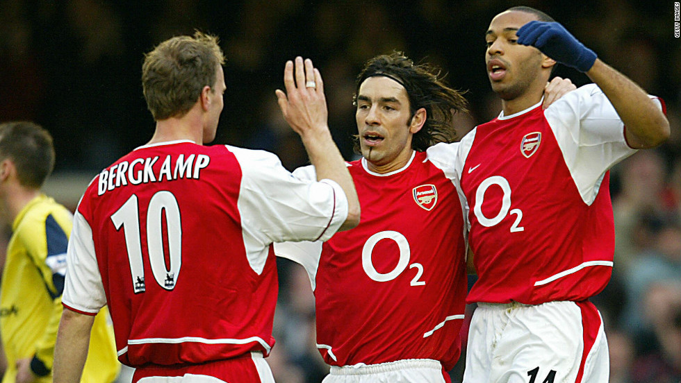 Arsenal's title-winnersof the 2003-04 season made history by becoming the first and only team to be unbeaten in a Premier League season. Arsene Wenger's side, which included stars like Thierry Henry, Dennis Bergkamp and Patrick Vieira, won the best team award.