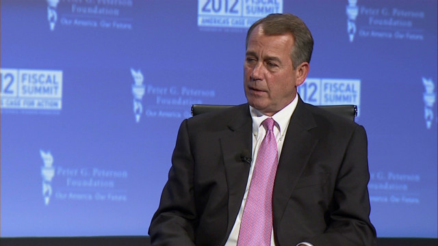 Boehner poised for another fight