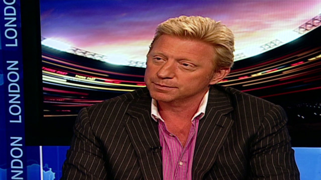 Boris Becker: Federer is a contender