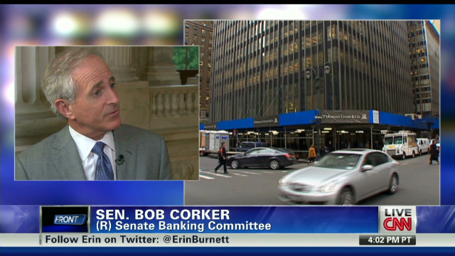 Sen. Corker calls for JPMorgan hearing
