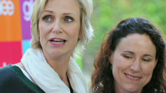 Jane Lynch and same-sex marriage