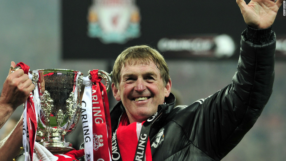 Against the back drop of a disappointing league campaign, Dalglish guided Liverpool to their first trophy in six years by beating second-tier Cardiff City on penalties in the League Cup final.